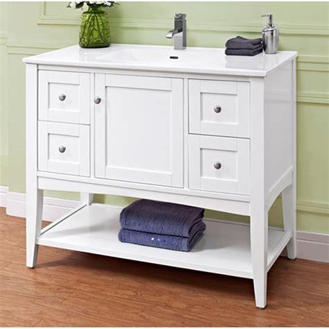 Open Shelf Bathroom Vanities by Fairmont Designs Shaker Americana 42 Quot Vanity Open Shelf