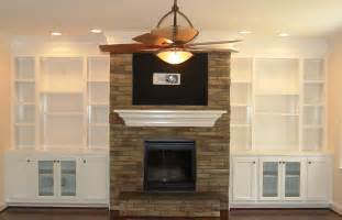 Built In Bookcases Around A Fireplace Diy Built In Bookshelves Around Fireplace American Hwy