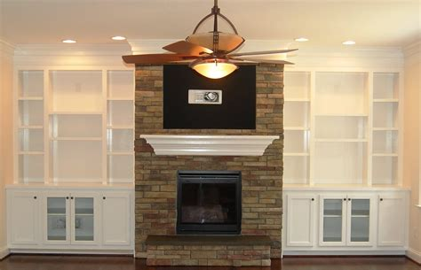 Diy Built In Bookshelves Around Fireplace American Hwy Fireplace Built In Bookshelves