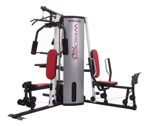 weider pro 4900 weight system