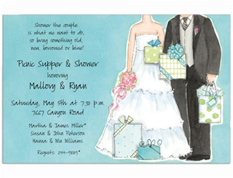 Showers For Couples by Couples Wedding Shower Invitations Couples Bridal Shower