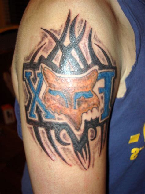 motorsport tattoo designs fox racing designs for www pixshark