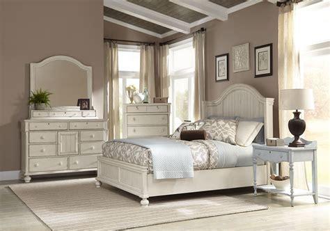 newport bedroom set newport antique white panel bedroom set from american