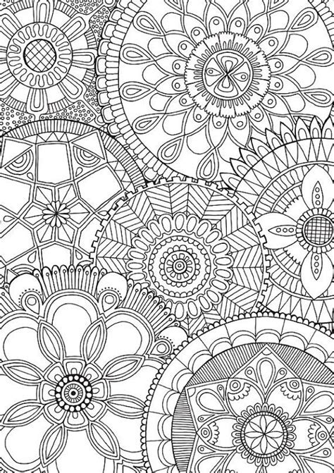 detailed mandala coloring pages for adults family mandalas colour with me hello angel by