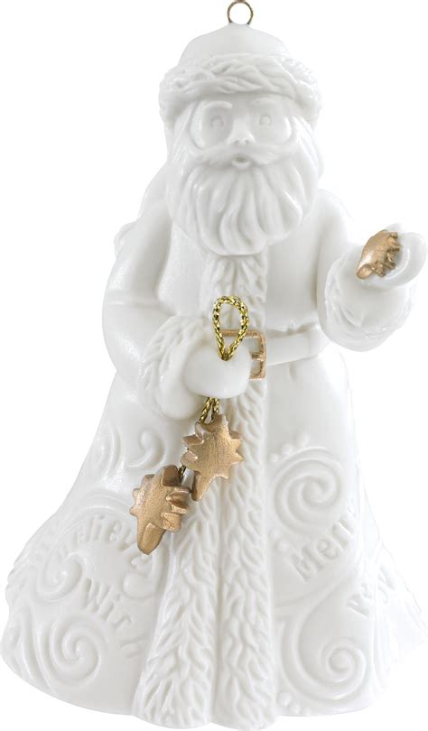 2015 santa christmas ornament carlton heirloom ornaments