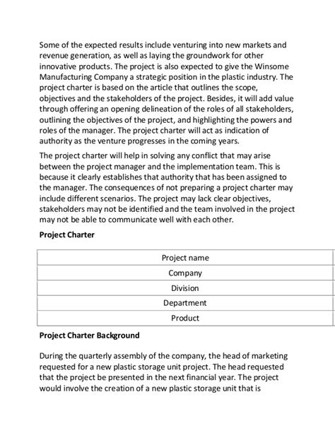Project Management Essay by Sle Essay On Project Management
