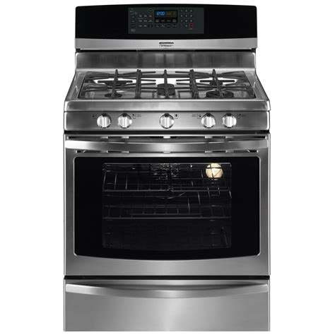 kenmore warm and ready drawer gas oven kenmore elite 30 freestanding lp gas range 7756 silver
