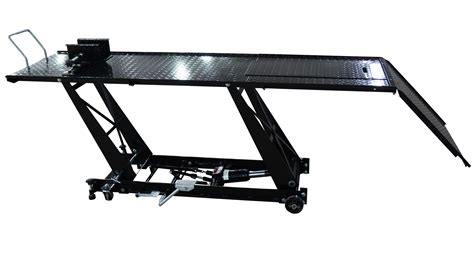 motorcycle bench lift foxhunter hydraulic bike motorcycle motorbike lift r table bench 1000lb blk m ebay