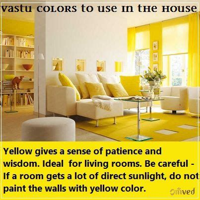 vastu colors     houseyellow    sense