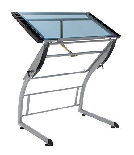 Drafting Table Height Compare Price To Adjustable Height Drafting Table Dreamboracay