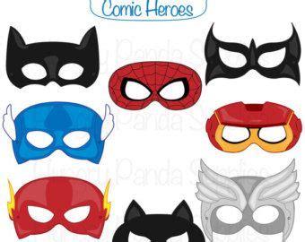 printable villain masks superhero printable coloring masks superhero mask hero