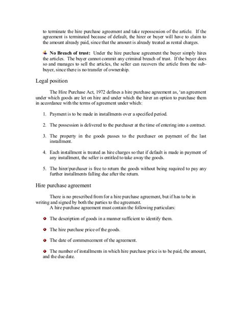 Agreement Letter For Car Hire Purchase hire purchase agreement car images