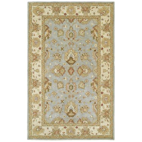 rug spa kaleen heirloom spa 9 ft x 12 ft area rug 8802 56 9 x 12 the home depot