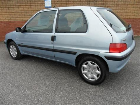 used peugeot 106 used peugeot 106 2001 silver paint petrol 1 1 zest2 3dr
