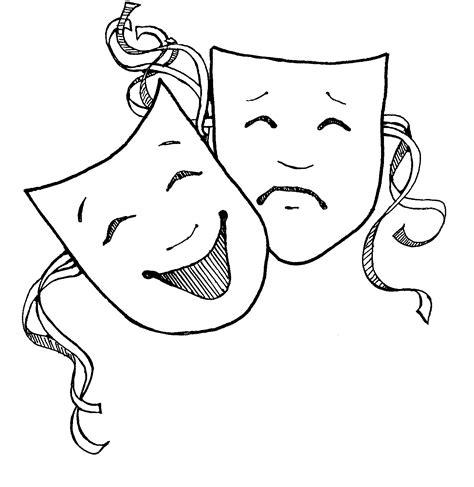 black and white drama mormon share drama masks