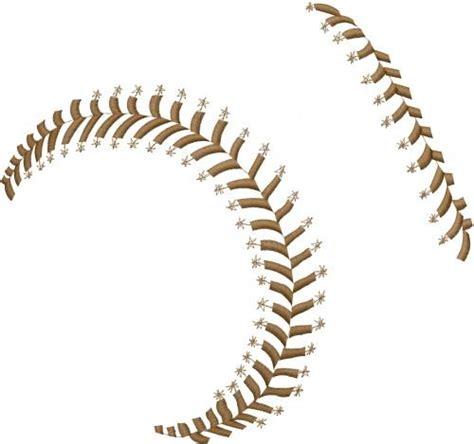 Baseball Stitching Clipart 41 Baseball Designs