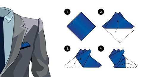 square to square how to fold a pocket squares tie a tie net