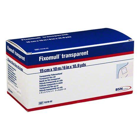 Fixomull Transparent fixomull transparent 15 cmx10 m pzn 03643218 delmed