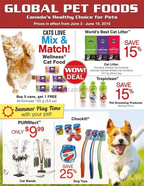 dog food coupons june 2015 global pet foods flyer june 3 to 19