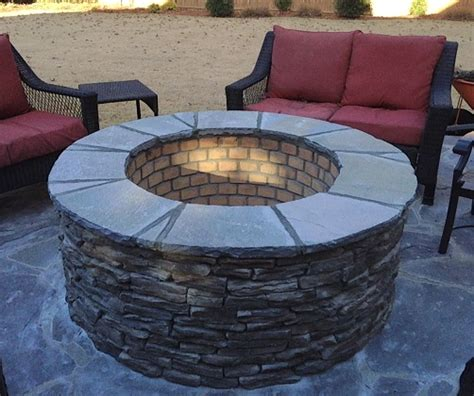 Columbia Sc Fire Pit Builder Custom Decks Porches Slate Firepit