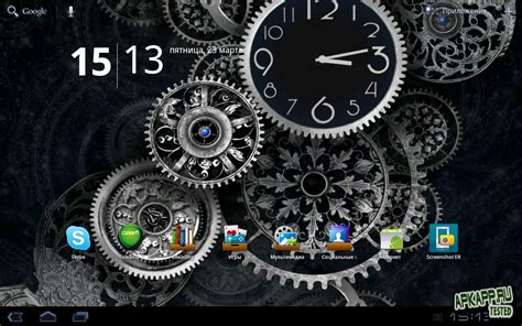black clock live wallpaper hd v1 05 скачать взломанные обои black clock live wallpaper v1 01