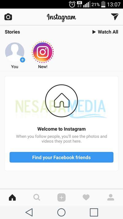 membuat instagram melalui hp cara membuat instagram di hp terbaru 2018 lengkap gambar