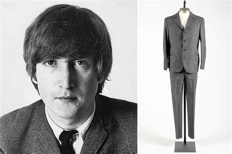 john lennon john lennon s suit headed to the auction block new york post