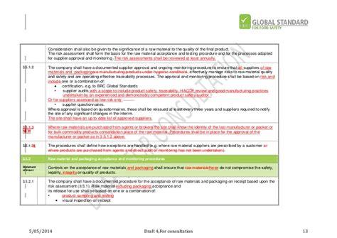 allergen risk assessment template food safety risk