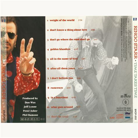 ringo starr japan time takes time japan ringo starr mp3 buy full tracklist