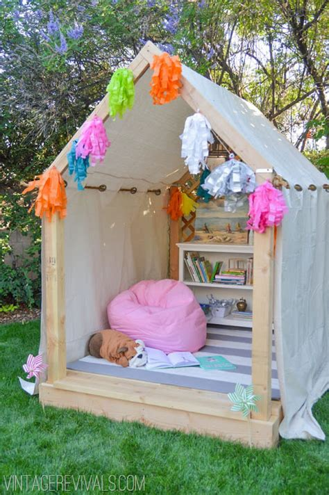 Building A Zipline In Your Backyard 7 Inspired Fort And Treehouse Designs For Kids The