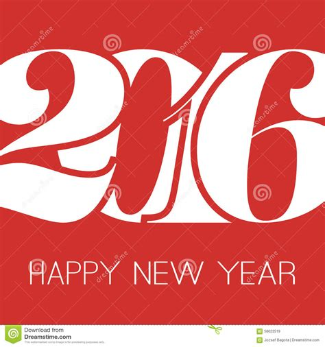 happy new year greeting card creative design template