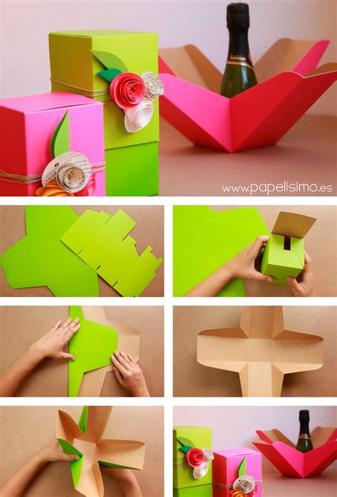 como decorar una caja de carton regalo c 243 mo decorar cajas de regalo para boda papelisimo