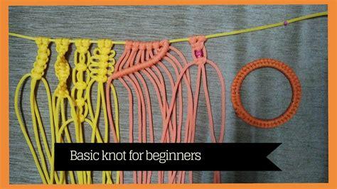 Macrame Projects For Beginners - basic macrame knots for beginners learn macrame doovi
