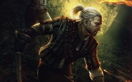 witcher 2 hairstyles video games men the witcher geralt of rivia white hair the