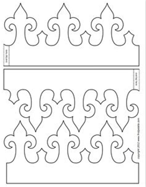paper crown template for adults step 1 royal paper crown craft beautiful