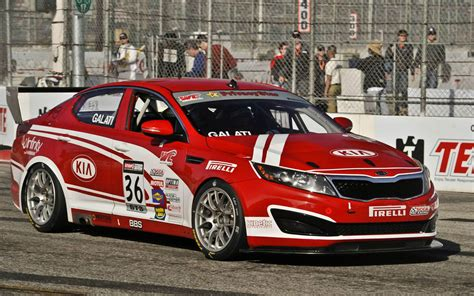 Kia Optima Racing Kia Optima Racing Right Front Photo 1