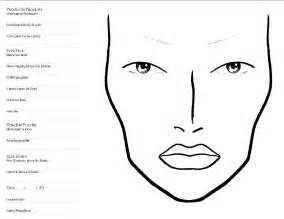makeup charts template mac makeup template coloring pages