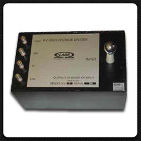 high voltage divider resistor transportable dc high voltage dividers ohm labs inc