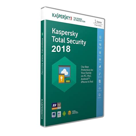 Security Kaspersky 2018 kaspersky total security 2018 pc macandroid 1