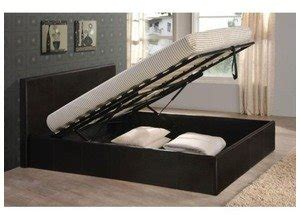 Bed Frame With Lift Up Storage Black 5ft King Size Storage Ottoman Gas Lift Up Bed Frame Tigerbeds Branded Product Co