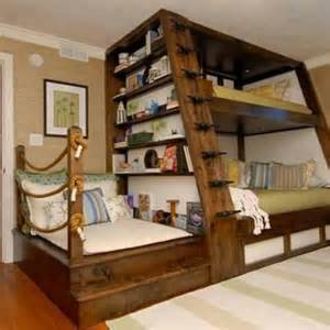 bookshelves for boys bunk bed bookshelf boys bunkroom