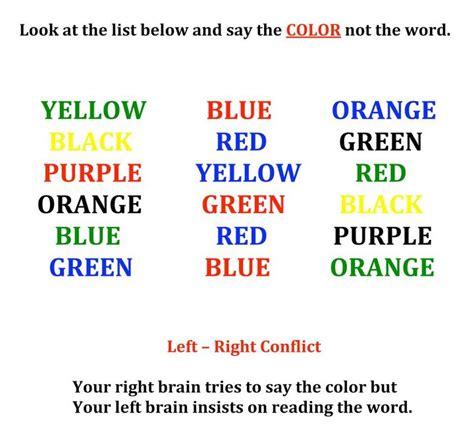 color word test the stroop effect ihueman