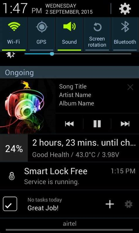 tutorial android media player android custom notification for music player exle