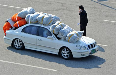 What Calendar Do They Use In Korea These Are The Overloaded Cars Of South Korean Workers