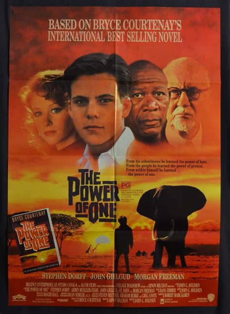 The Power Of One all about the power of one 1992 one sheet