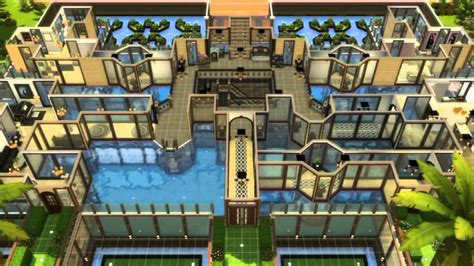 The Sims 3 House Floor Plans by Sims 4 House Building The Underwater Mansion Youtube