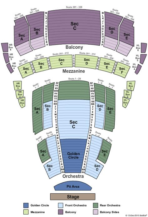 buell theater seating views jersey boys theater tickets clickitticket