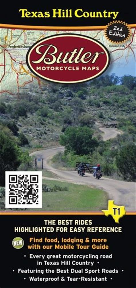 texas hill country motorcycle rides map butler motorcycle maps texas hill country