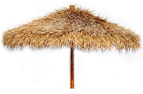 Tiki Hut Umbrella Thatch Umbrella Better Pic Ebay