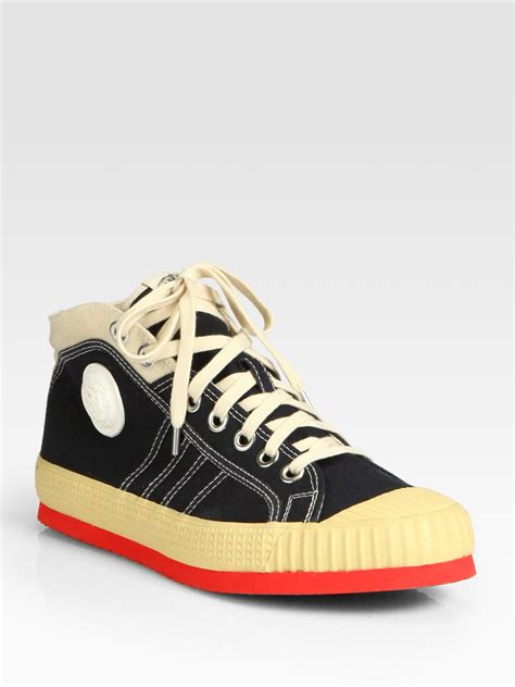 diesel sneakers diesel yuk anniversary sneakers in beige for black